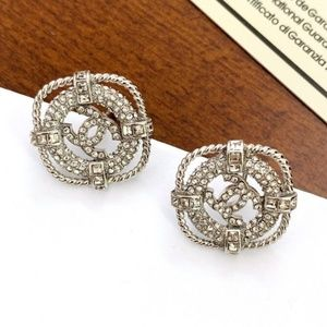 C Earrings With Box